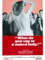 What Do You Say to a Naked Lady? 1970